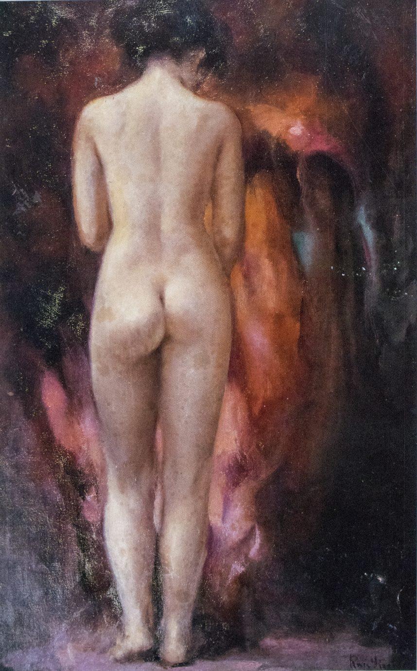 Roser Vinardell óleo sobre lienzo