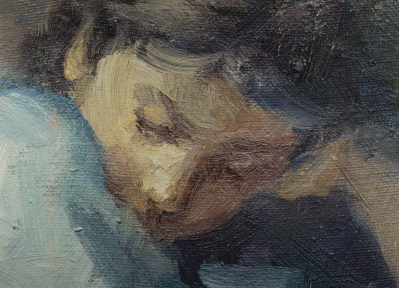 Óleo sobre lienzo Roser Vinardell composicion