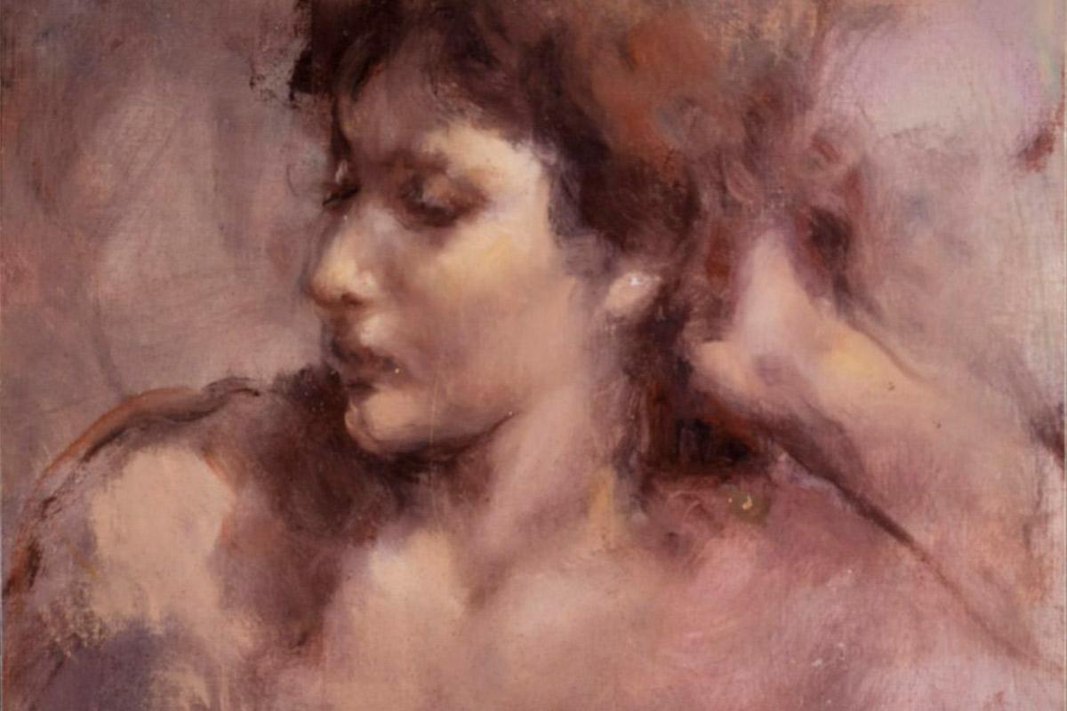 Roser Vinardell - Óleo sobre lienzo retrato