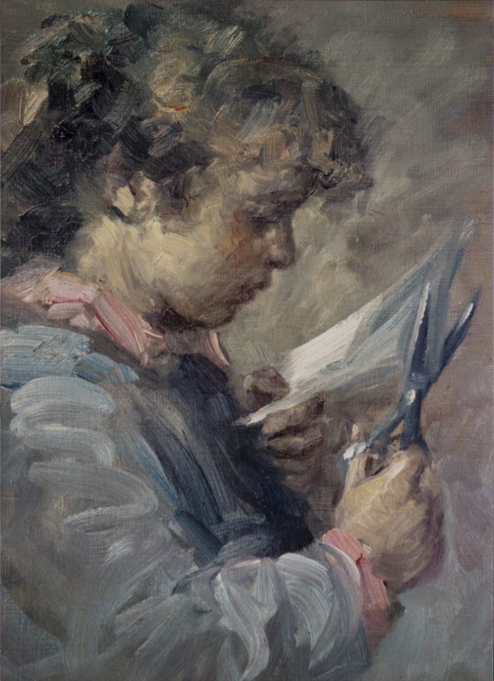 Roser Vinardell Óleo sobre lienzo composicion