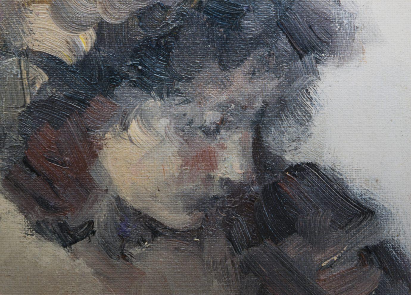 Roser Vinardell Óleo sobre lienzo detalle
