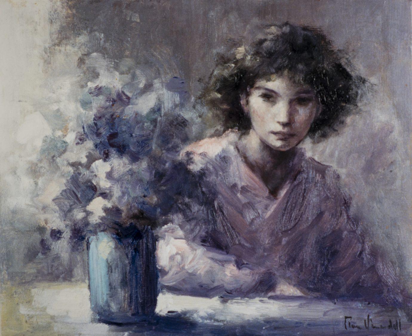 Roser Vinardell - Óleo sobre lienzo composicion